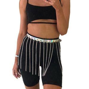 Holographic chain fringe skirt